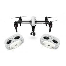 Квадрокоптер DJI Inspire 1 с 4K видеокамерой (2 пульта)